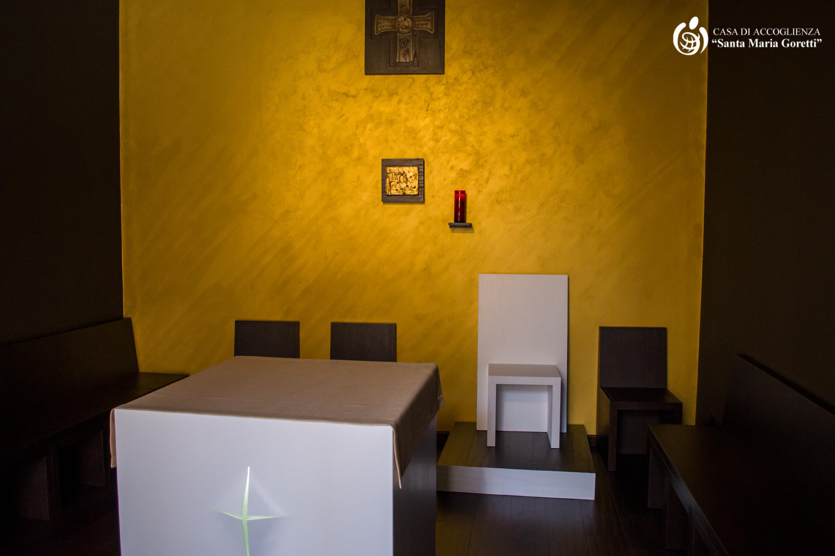 Cappella - Casa accoglienza Santa Maria Goretti - Andria (BT)