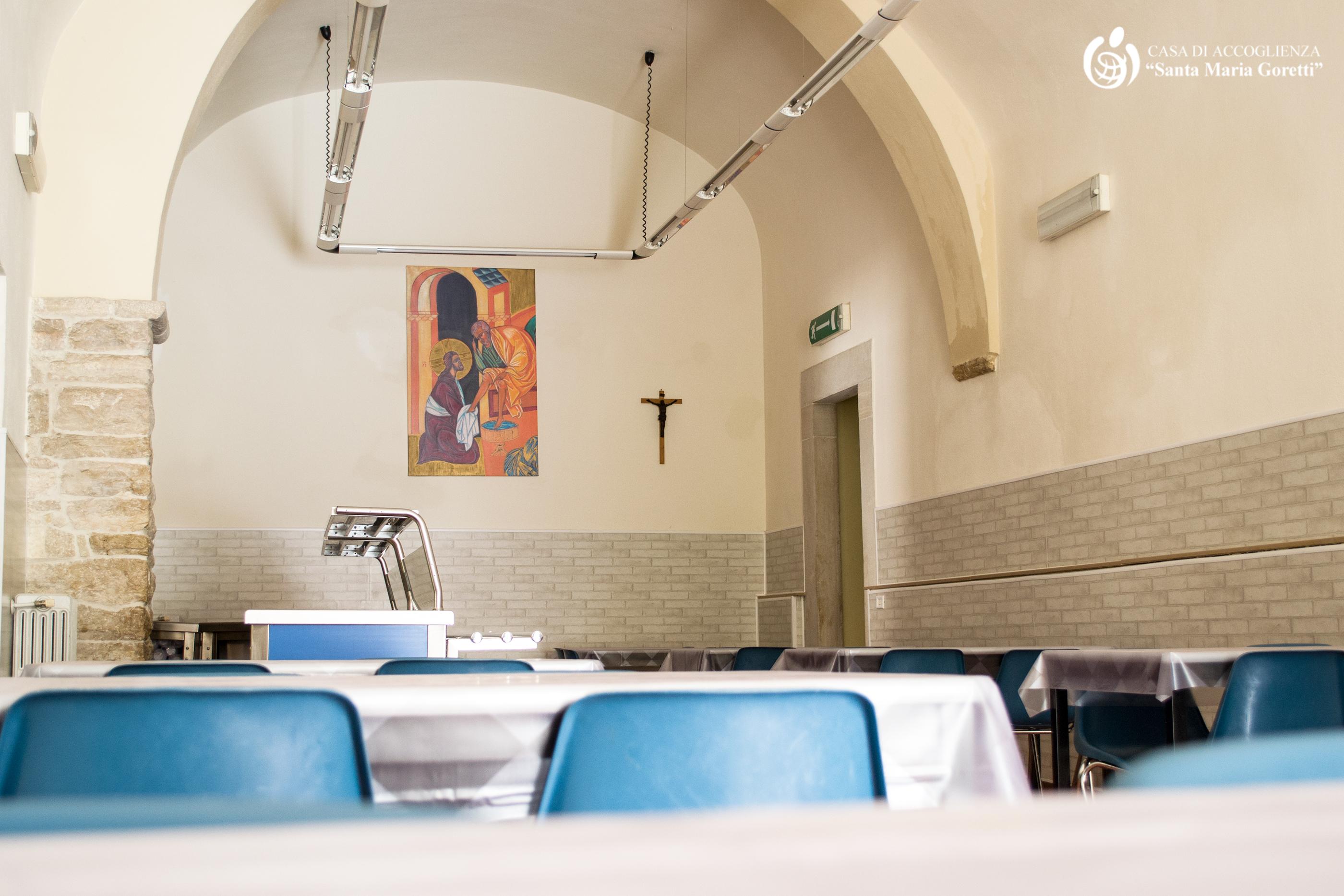 Mensa - Casa accoglienza Santa Maria Goretti - Andria (BT)